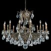 Schonbek Sophia 14 Light Crystal Chandelier