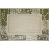 G.A. Gertmenian & Sons Paige Green/Beige Indoor/Outdoor Area Rug