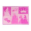 G.A. Gertmenian & Sons Princess Castle Patchwork Pink Area Rug