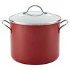 Farberware Ceramic Cookware 12-qt. Stock Pot with Lid