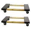 "Buffalo Tools 3.5"" x 18.5"" x 30"" Furniture Dolly (Set of 2)"
