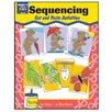 Evan-Moor Sequencing Cut and Paste Activities Book