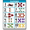 Frank Schaffer Publications/Carson Dellosa Publications Number Sets 1-10 Chart (Set of 3)