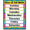 Frank Schaffer Publications/Carson Dellosa Publications Days in The Week Chart (Set of 3)
