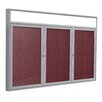 Ghent 3 Door Outdoor Enclosed Bulletin Board