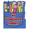 Teachers Friend Pocket Folder My Schoolwork Folder (Set of 3)