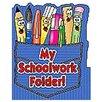 Teachers Friend Pocket Folder My Schoolwork Folder (Set of 3)
