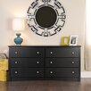 Prepac Sonoma 6 Drawer Dresser