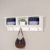 Prepac White Monterey Entryway Shelf