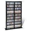 Prepac Floor Media Double Width Barrister Multimedia Storage Rack
