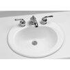 "Toto 20.38"" Self Rimming Bathroom Sink"
