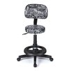Master Equipment Graffiti Print Deluxe Grooming Stool