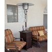 AZ Patio Heaters Tall Square Propane Patio Heater with Wheels