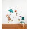 ADZif Ludo Dancing in the Rain Wall Decal