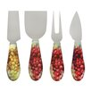 Epicureanist Sonoma 4 Piece Cheese Knive Set