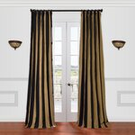 Bungalow Rose Athena Room Darkening Single Curtain Panel