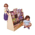 Guidecraft Big 4 Sided Library Book Display Amp Reviews