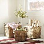 Birch Lane Schoolhouse Baskets (Set of 3)