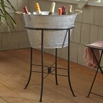 Birch Lane Cawley Beverage Tub with Stand