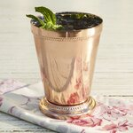 Birch Lane Anderson Beaded Cup, Copper