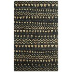 Bohemian Black Beige Area Rug Wayfair
