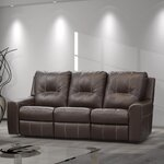 Signature Design By Ashley Kennett Double Reclining Loveseat Amp Reviews Wayfair
