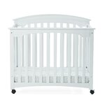London Euro Mini Convertible Crib With Mattress Wayfair