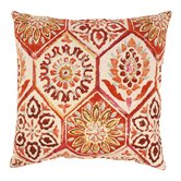 Summer Breeze Cotton Throw Pillow
