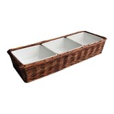 Willow 3 Section Divided Serving Dish