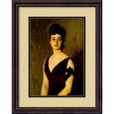 'Mrs. Charles E. Inches (Louise Pomeroy), 1887' by John Singer Sargent Framed Painting Prints