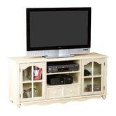 "Rockingham 52"" TV Stand in Antique White"