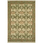 American Home Classic Arts & Craft Gold/Sage Area Rug