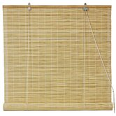Bamboo Roll Up Blinds in Natural