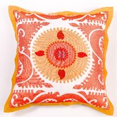 All Suzani Linen Pillow Cover