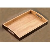 Bamboo Rectangular Serving Tray (Set of 6)
