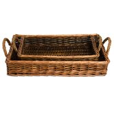 Natural Home Willow Serving Tray