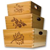 Blue Orange Decorative Boxes, Bins, Baskets & Buckets