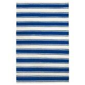 Zen Lucky Blue/White Area Rug