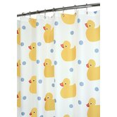 Prints Ducky Time Shower Curtain