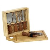 8 Piece Wine and Cheese Set