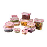 24 Piece Lock & Seal Food Storage Container Set