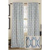 Illuminate Burlap Rod Pocket Drape Single Curtain Panel