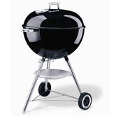 """One-Touch Silver 22.5"""" Kettle Grill in Black"""