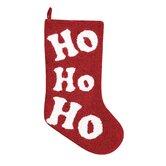 Ho Ho Ho Hooked Stocking
