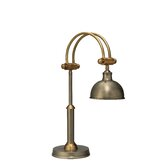 """Crescent Task 26"""" H Table Lamp with Dome Shade"""