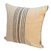 Island Hobie Stripe Linen Throw Pillow