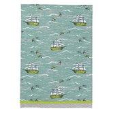 Ship/Birds at Sea Kitchen Towel (Set of 2)