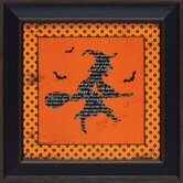 Halloween Witch Framed Graphic Art