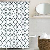 Quatrefoil Cotton Shower Curtain