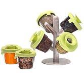 GGI International Spice Jars & Racks